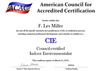 ACAC Certification