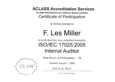 ISO/IEC Certification